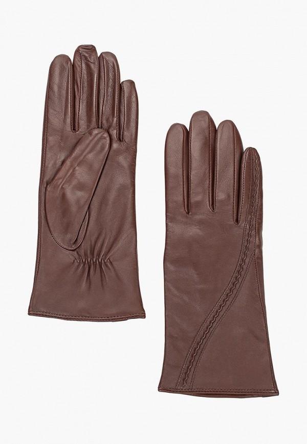 женские перчатки eleganzza, коричневые