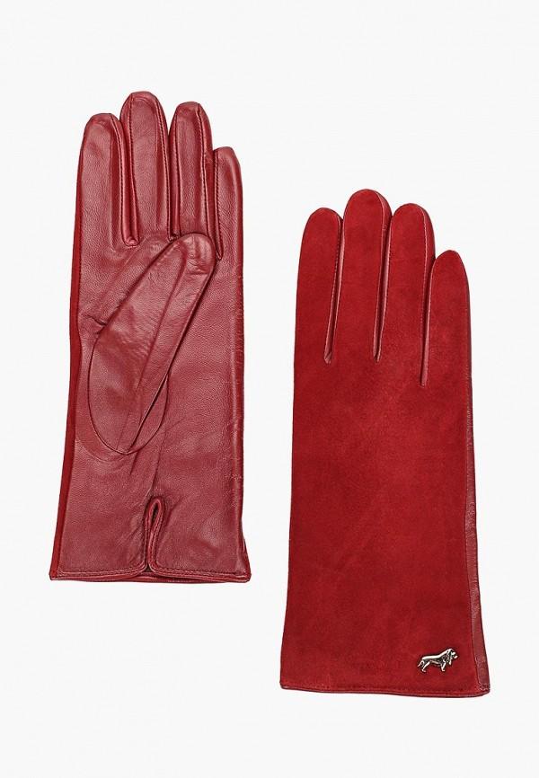 женские перчатки labbra, бордовые