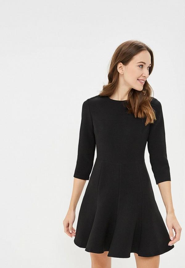 женское повседневные платье zerkala, черное