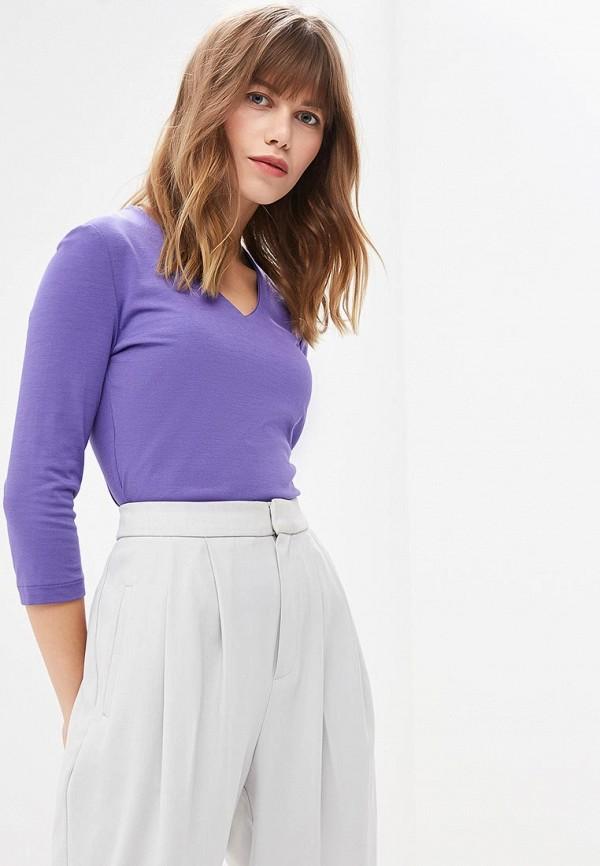 женский лонгслив ruxara, фиолетовый