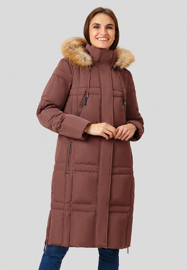 Купить Пуховик Finn Flare, mp002xw1h7r4, коричневый, Осень-зима 2018/2019