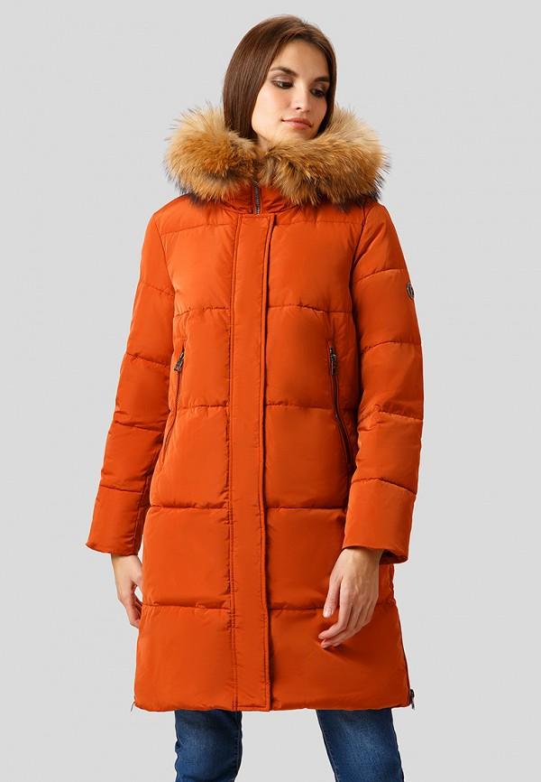 Купить Куртка утепленная Finn Flare, mp002xw1h7th, оранжевый, Осень-зима 2018/2019