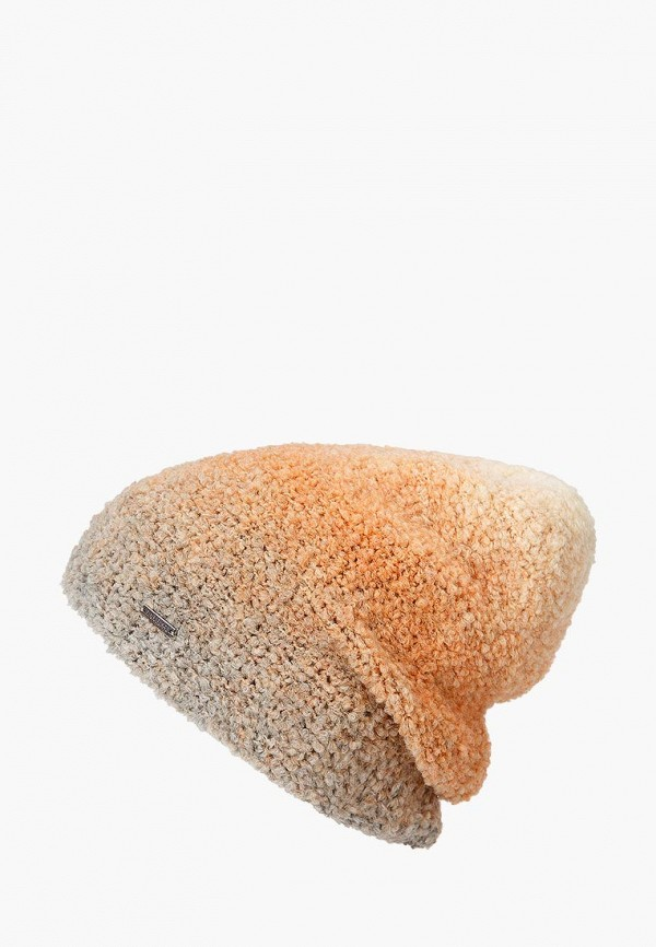 женская шапка finn flare, оранжевая