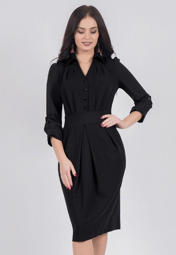 женское платье grey cat, черное