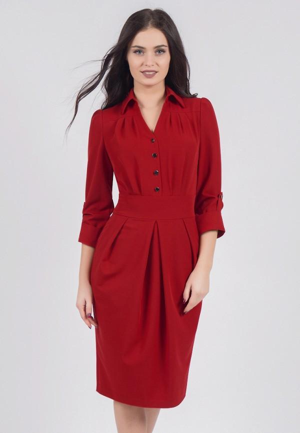 женское платье grey cat, красное