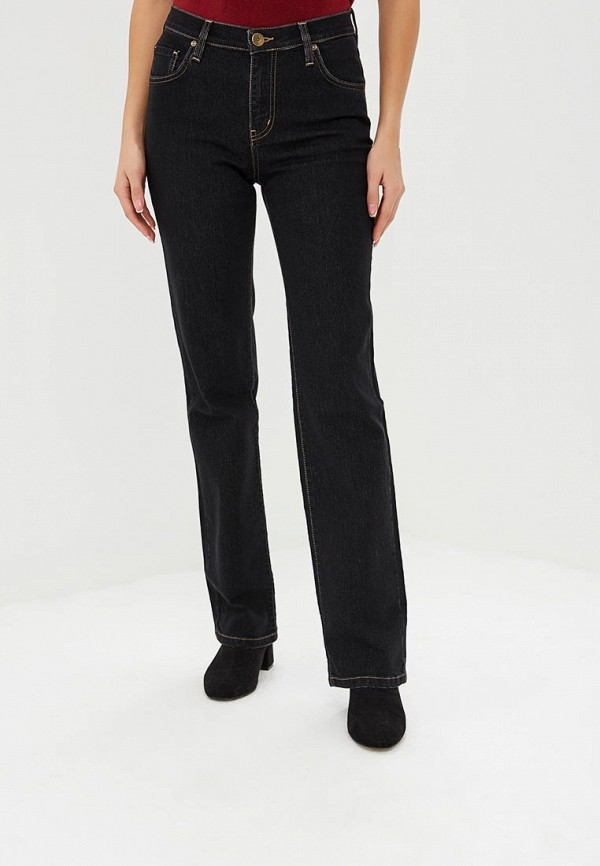 женские прямые джинсы dairos, черные