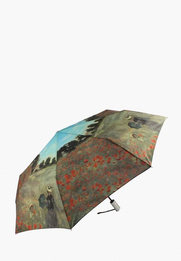 женский зонт edmins, разноцветный