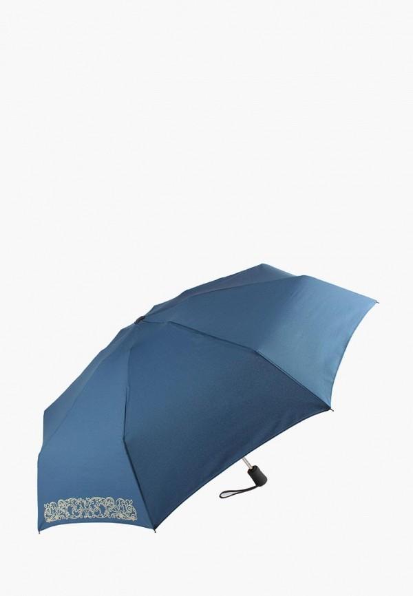 женский зонт edmins, синий