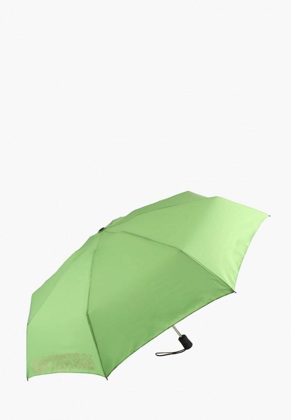 женский зонт edmins, зеленый