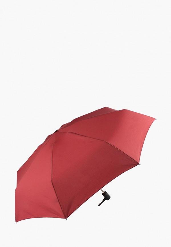 женский складные зонт edmins, красный