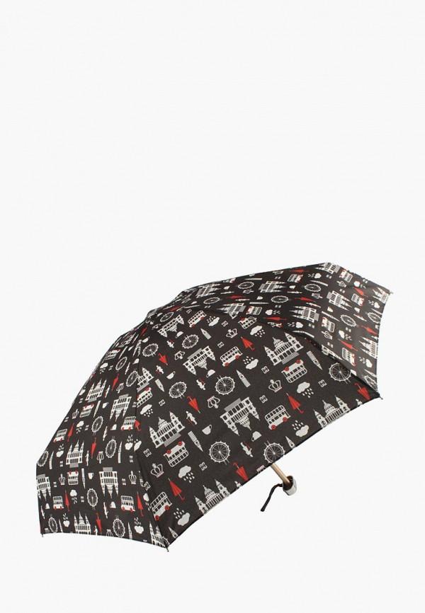 женский зонт edmins, черный