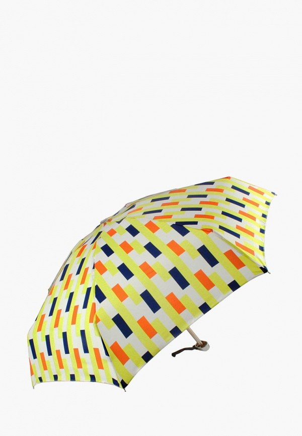 женский складные зонт edmins, желтый