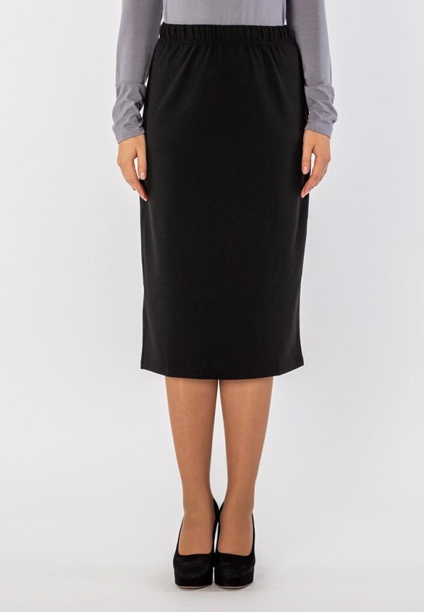 женская прямые юбка s&a style, черная