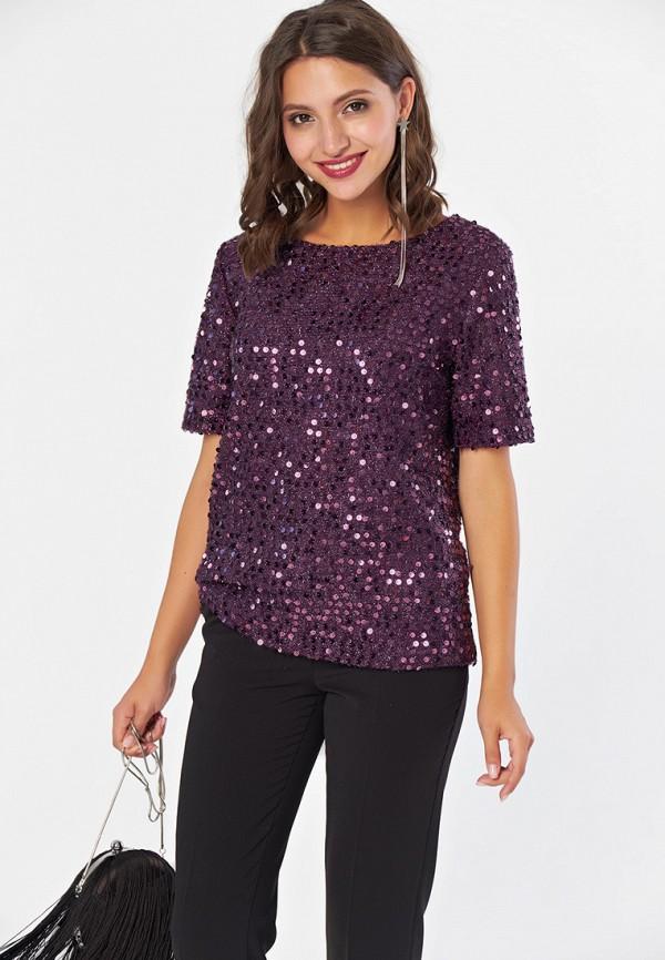 женская блузка fly, фиолетовая