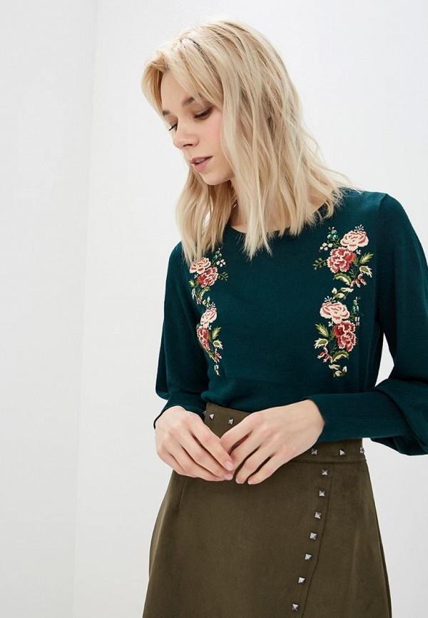 Купить Джемпер Incity, mp002xw1h8f7, зеленый, Осень-зима 2018/2019