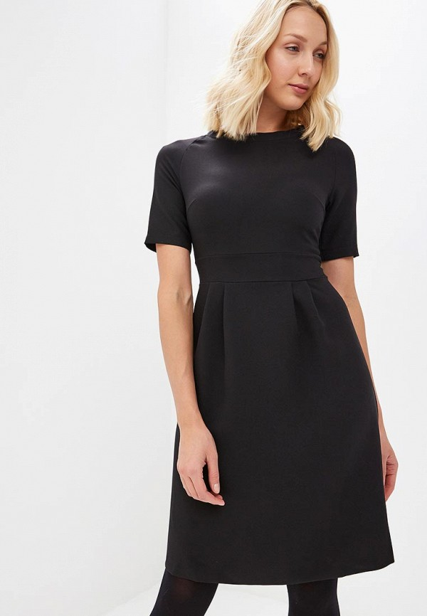 Купить Платье Froggi, mp002xw1h8kk, черный, Осень-зима 2018/2019