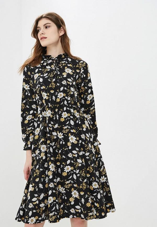 Купить Платье Froggi, mp002xw1h8ks, черный, Осень-зима 2018/2019