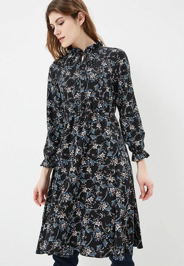 Купить Платье Froggi, mp002xw1h8kt, черный, Осень-зима 2018/2019