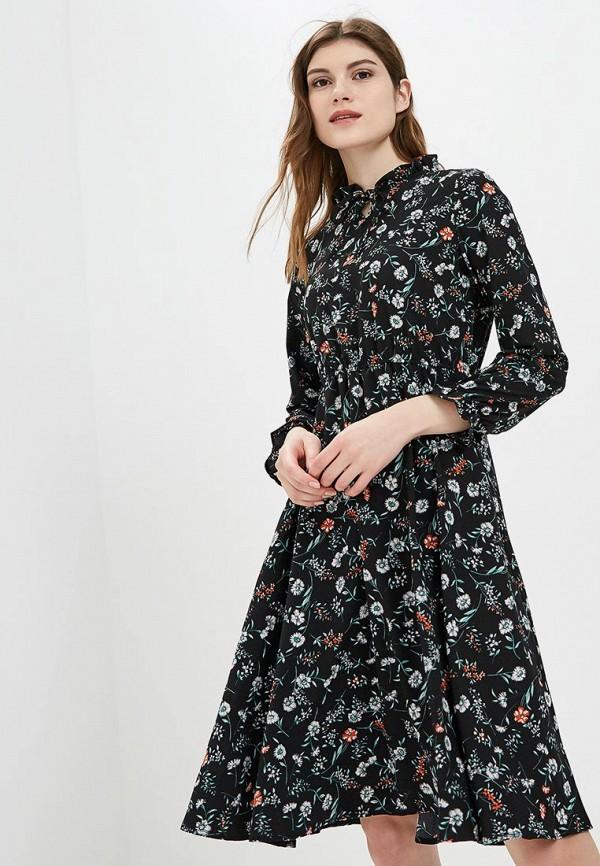 Купить Платье Froggi, mp002xw1h8ku, черный, Осень-зима 2018/2019