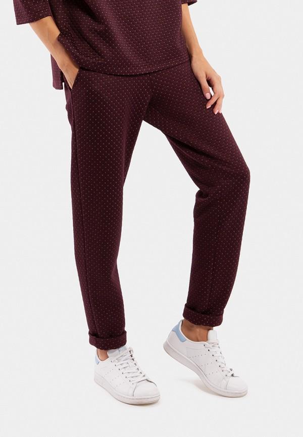 женские спортивные спортивные брюки vladi collection, бордовые
