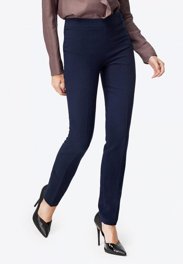 женские классические брюки vilatte, синие