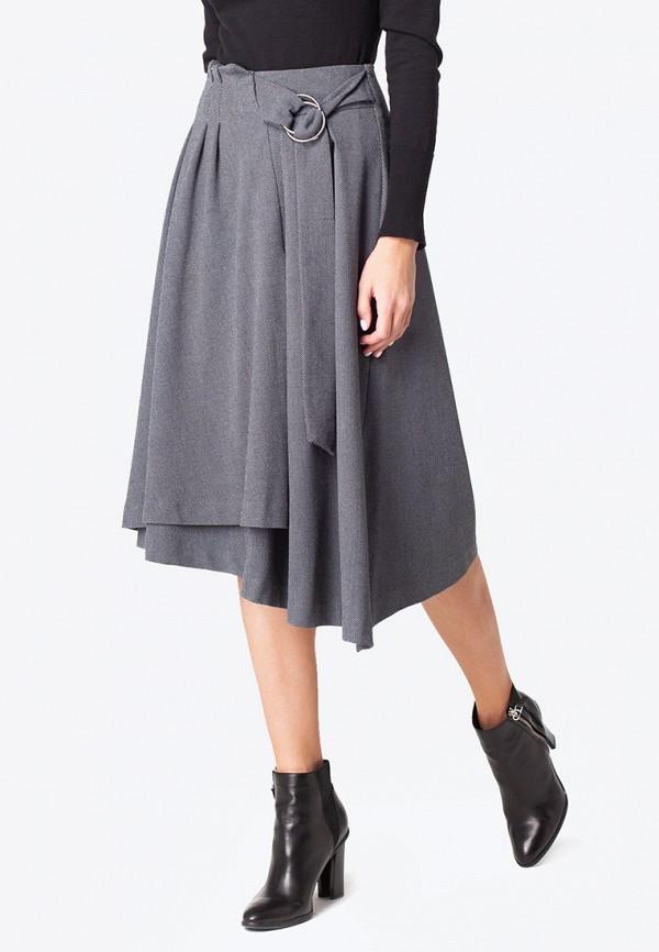женская юбка vilatte, серая