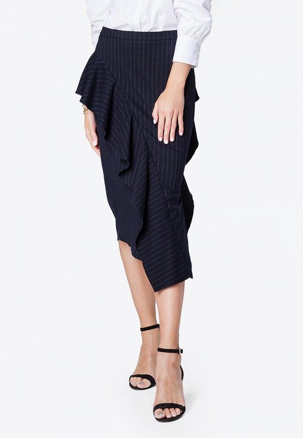 женская юбка vilatte, синяя