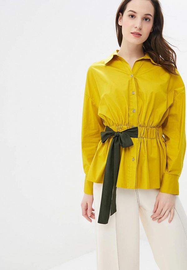 Купить Блуза L1FT, mp002xw1h8uy, желтый, Осень-зима 2018/2019
