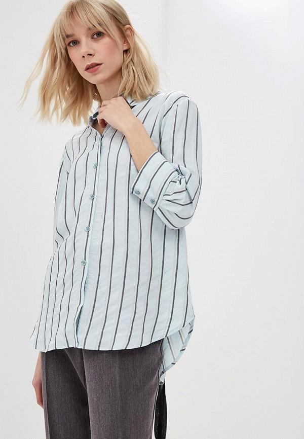 Купить Блуза L1FT, mp002xw1h8v0, голубой, Осень-зима 2018/2019