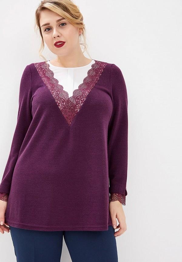 женская блузка averi, бордовая