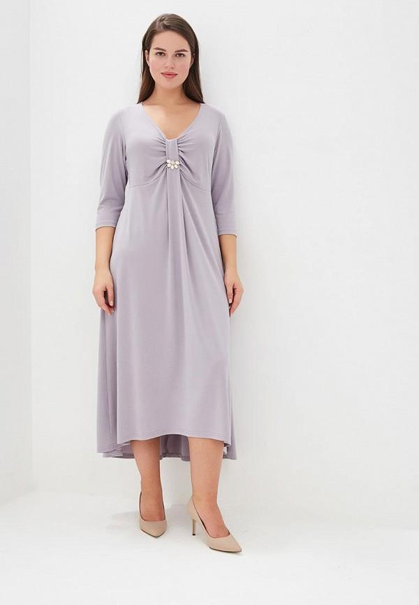 женское вечерние платье averi, серое