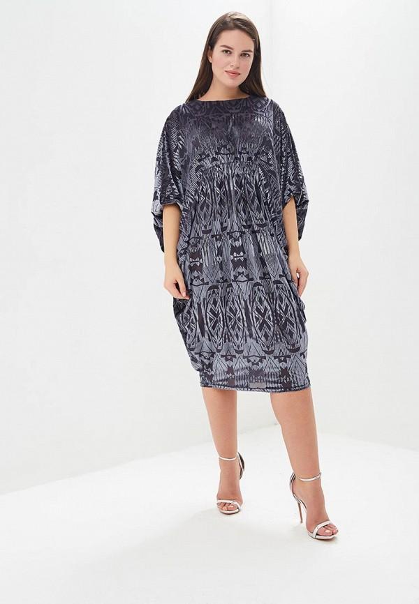женское повседневные платье averi, серое