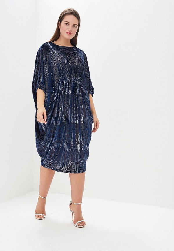 женское повседневные платье averi, синее