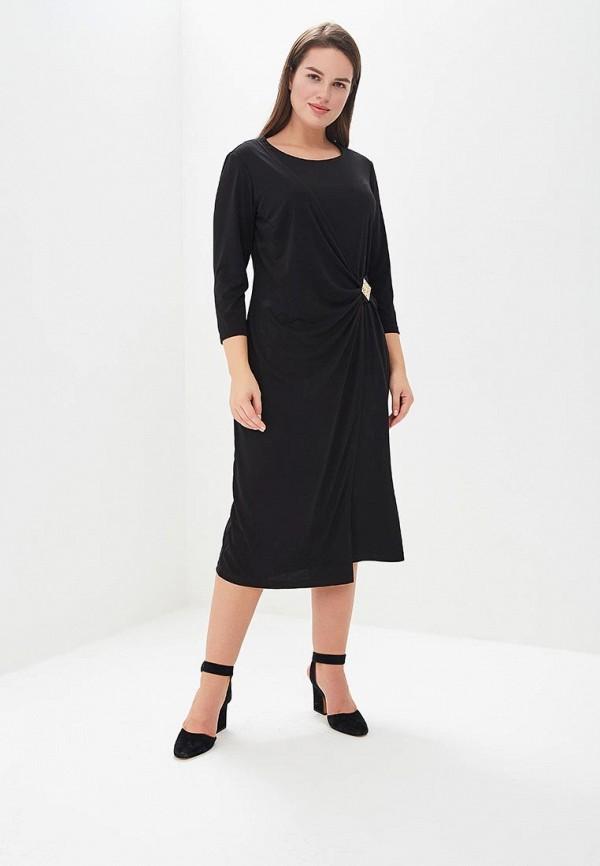 женское вечерние платье averi, черное