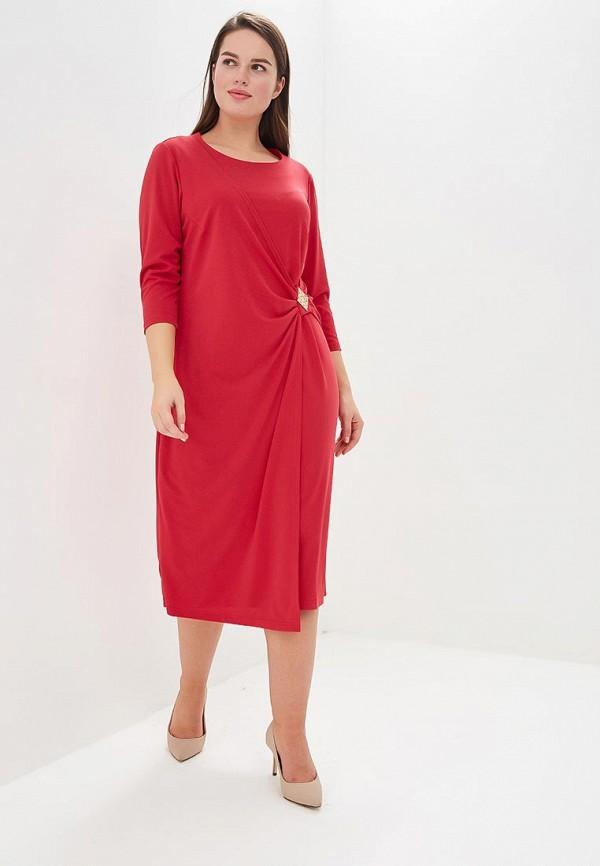 женское вечерние платье averi, розовое