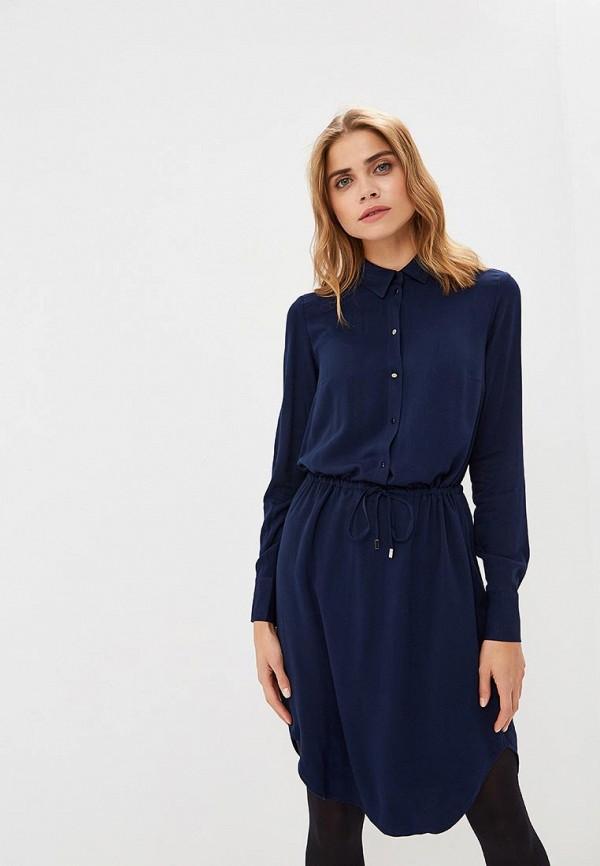 женское повседневные платье tom farr, синее