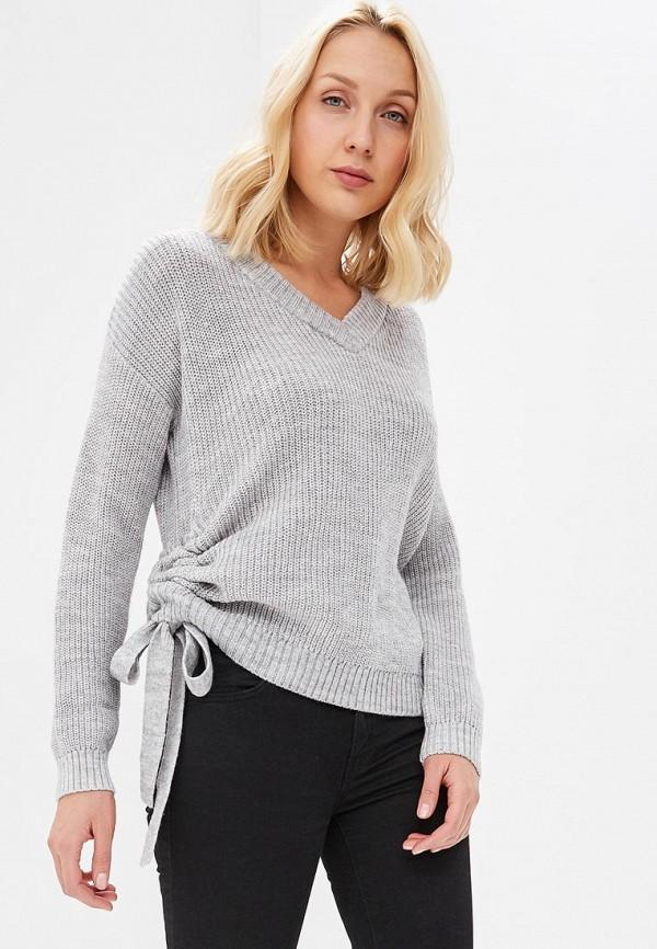 женский пуловер tom farr, серый