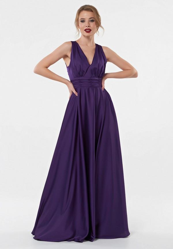 женское вечерние платье irma dressy, фиолетовое