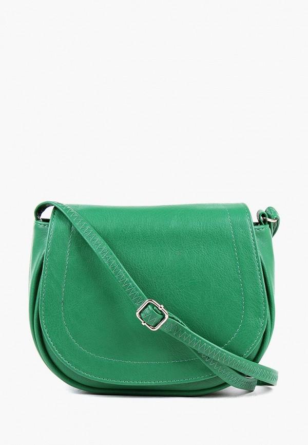 Сумка через плечо  зеленый цвета