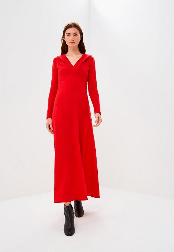 женское повседневные платье alina assi, красное