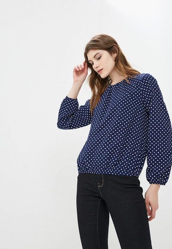 Купить Блуза Froggi, mp002xw1h9ct, синий, Осень-зима 2018/2019