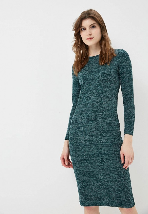 Купить Платье Froggi, mp002xw1h9cy, зеленый, Осень-зима 2018/2019