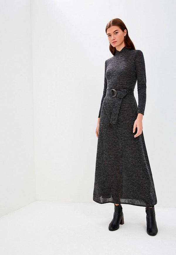 женское повседневные платье alina assi, черное