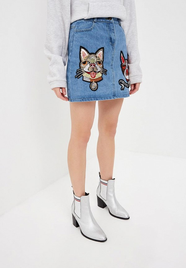 Джинсовые юбки