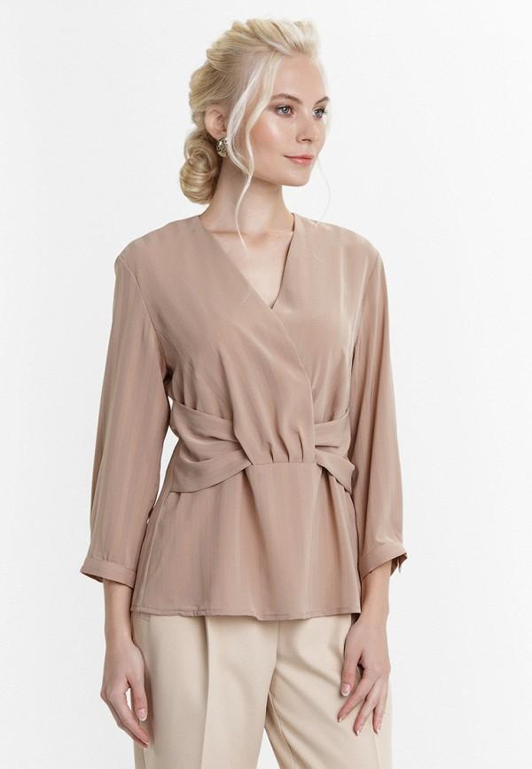 женская блузка audrey right, бежевая
