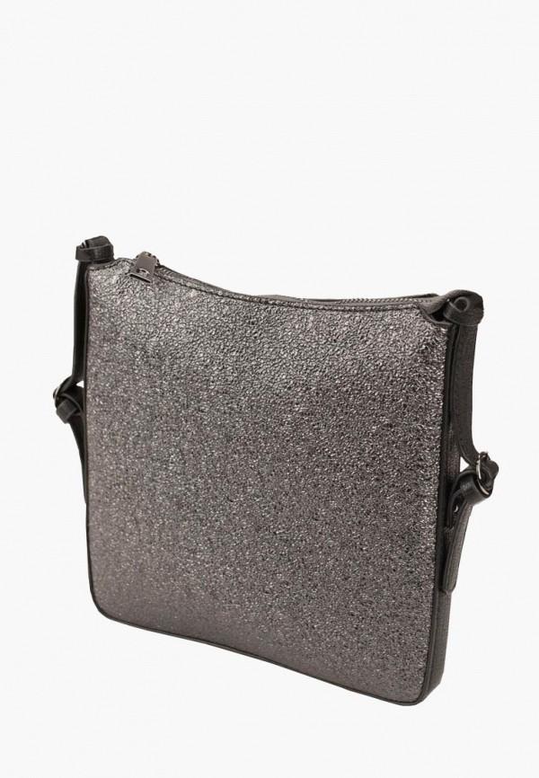 женская сумка dda, серебряная