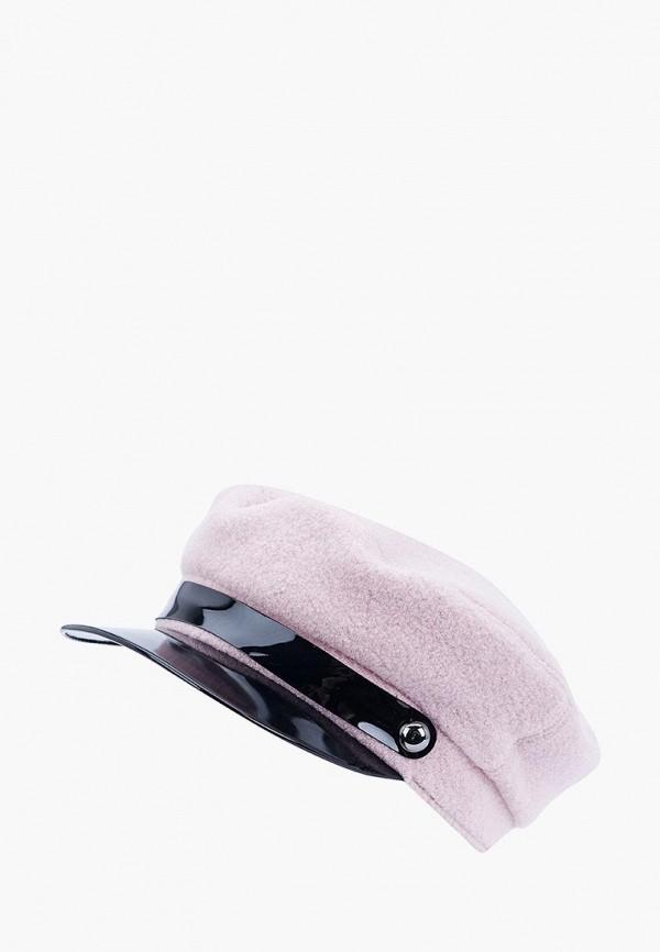 женская кепка forti knitwear, розовая