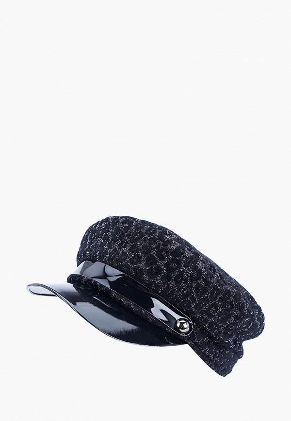 женская кепка forti knitwear, черная