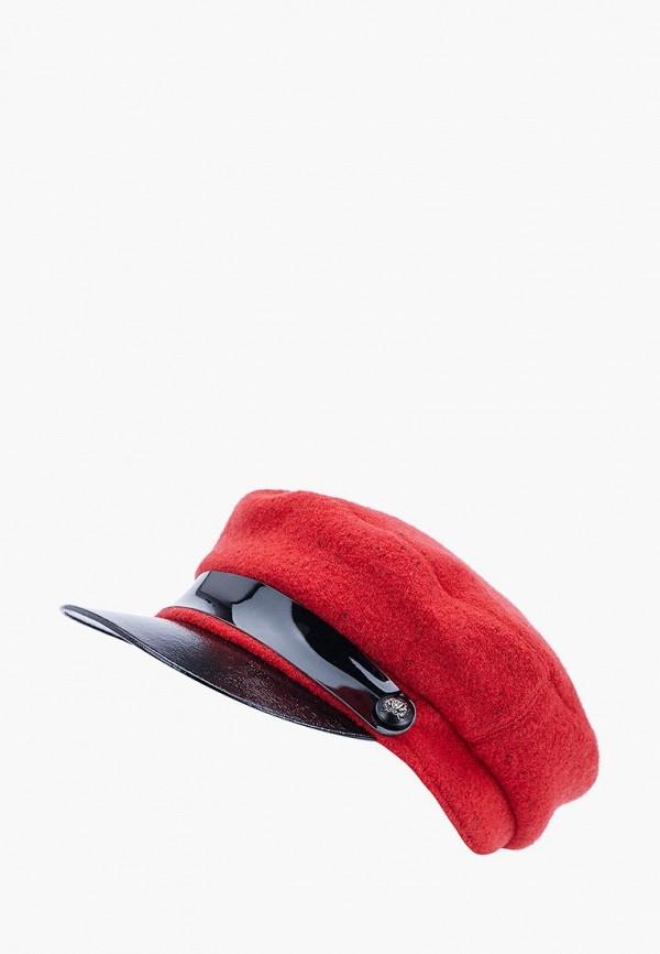 женская кепка forti knitwear, красная