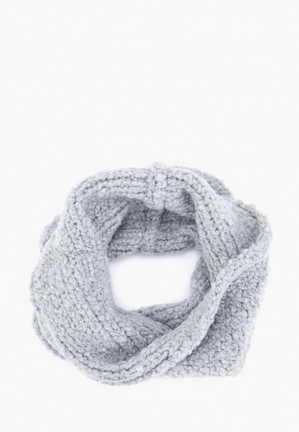 женский снуд forti knitwear, серый